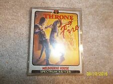 Throne of fire GAME FOR SPECTRUM 48/128K from Melbourne house