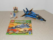 Used Lego Ninjago Jay'S Storm Fighter (9442) - 100% Complete, All Minifigs, Book