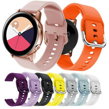 20mm Silicone Watch band Bracelet Belt For Samsung Galaxy Watch Active S/L Strap