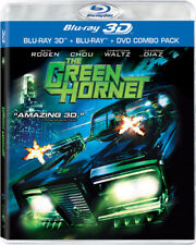 The Green Hornet [New Blu-ray 3D] With Blu-Ray, With DVD, Widescreen, 3D, Ac-3