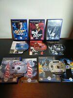 James Bond 007 Games Bundle PlayStation 2 PS2 Goldeneye Nightfire Complete PAL !