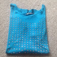 Beta House Top For Ladies/ Size Large/ Shiny, Dressy, Casual, CUTE!!!