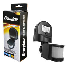 Energizer Outside Outdoor Security Automatic PIR Motion Sensor Wall Light Switch