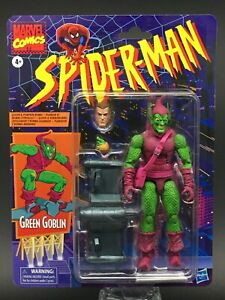 Green Goblin ~ Spider-Man Marvel Legends Retro Collection Wave 1 ~ IN HAND