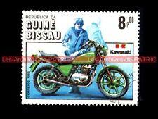 KAWASAKI Z 440 Ltd Z440 1982 - Guiné BISSAU - Guinée BISSAO : Timbre Poste Moto
