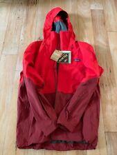 Men's Patagonia Untracked Jacket Large 2019 Model Red/ Dark Red Goretex