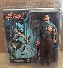"Neca Hero Ash Evil Dead 2 Retro Style Reel Toys 8"" Inch 2014 Clothed Figure"
