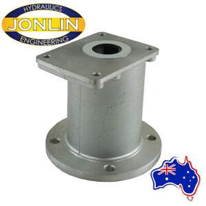 Petrol / Diesel Motor Bell Housing Hydraulic DIN Pump Mount - Variety of Sizes