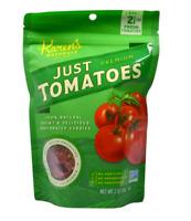 NEW KAREN'S NATURAL ORGANIC JUST TOMATOES PREMIUM NUTRITIVE FREEZE DRIED FRUITS
