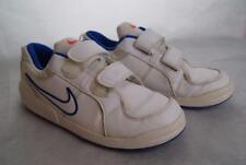 Nike Turnschuhe-weiß-blau Sohlen-Jungen Größe 2-Versandkostenfrei