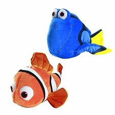 Finding Nemo and Dory Plush Toy Stuffed 9 Inch (Set of 2)