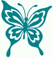 butterfly vinyl Decal, Yeti Decal, Tumbler Decal, LAPTOP STICKER TRUCK lo1