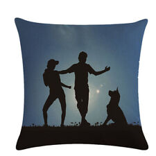 New Cotton Linen Cushion Cover Pillow Case Couple Sofa Home Decor JH