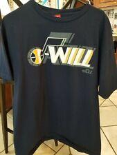 Deron Williams Utah Jazz Nba basketball shirt size lrg