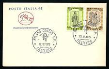 Italia 1975 : Boccaccio - FDC Cavallino / 1° giorno di emiss.