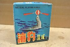 Vintage Seal Playing Ball Tin Wind up toy