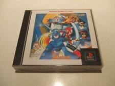 PS1 Rockman X4 The Best Megaman Japan PS PlayStation 1 F/S