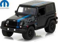 Greenlight 2010 Jeep Wrangler MOPAR Edition Hobby Exclusive Black 1/64 car 29886