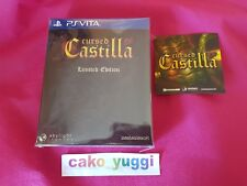 CURSED CASTILLA EX LIMITED EDITION SONY PS VITA NEUF BLISTER 0392/4000 ASIA