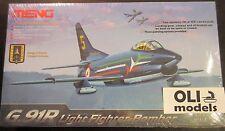 1/72 Fiat G.91R (R1/R3) US Army/Luftwaffe/Frecce Tricolori - MENG DS-004