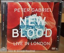 PETER GABRIEL - NEW BLOOD LIVE IN LONDON DVD PERFETTO