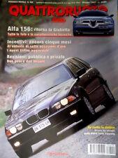 Quattroruote 499 1997 Alfa 156: ritorna la Giulietta. Nuova Porsche 911 [Q90]