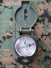 NEW - US MILITARY/US MADE TRITIUM LENSATIC COMPASS by CAMMENGA - OD - JULY 2019