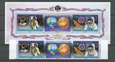 Raumfahrt - Space  Niue  742 - 44 ZD + Bl. 114  Apollo 11     **  (mnh)