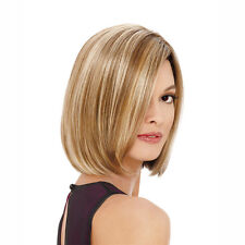 Fashion Portable Matt High Temperature Silk Wig Lady Short Straight Hair Wig