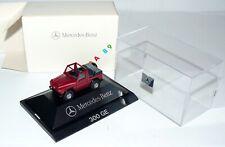 Herpa 1:87 + + Mercedes G-clase 300 ge abiertamente el AIA'89 en OVP + + #d1_416