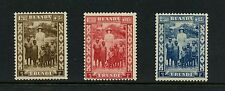 Ruanda-Urundi 1936 #B12-14 Queen Astrid & native children  3v.  MNH  J228