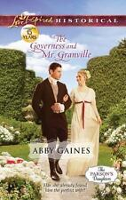 The Governess and Mr. Granville (Love Inspired Historical)
