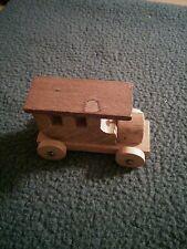 Original Loquai Holzkunst Mini Wooden Train Piece Made in Germany