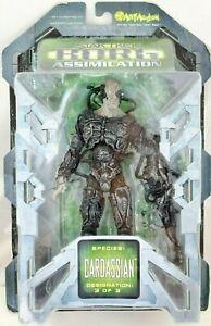 Star Trek Art Asylum  Action Figure Borg Assimilation Species Cardassian 3/3 MOC