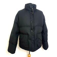 GAP 1969 Mens Down Filled Jacket Size Large Black Heavyweight Puffer Coat