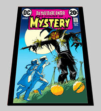 """HOUSE OF MYSTERY #206-DC Comic Book Cover from December 1973-18"""" X 24"""" Poster"""