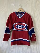 MONTREAL CANADIENS ICE HOCKEY SHIRT JERSEY VINTAGE CCM