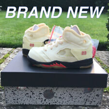 Jordan 5 Retro OFF-WHITE Sail Toddler (TD) CV4828-100