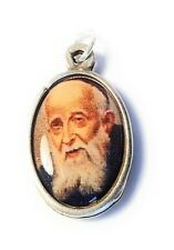 """Relic 1"""" medal 3rd class St Leopold Mandic patron disabled handicaped ppl cheery"""
