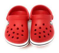 CROCS Kinder Clog Clogs Pantoletten Crocband Jungen Mädchen rot 21/22 21 22