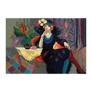 """Isaac Maimon """"Amanda"""" Signed Limited Edition Serigraph on Paper"""