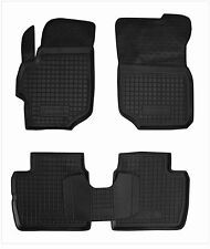 CITROEN C-ELYSEE 2012- 4D Rubber Car Floor Mats All Weather Alfombrillas Goma