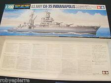 Tamiya U.S. Navy CA-35 Indianapolis Water Line Series 804 1:700 item 31804-2200