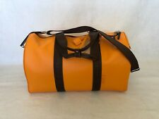 """Veuve Clicquot Overnight Leather Duffle Weekend Bag 19.5"""" X 10.5"""" X 10.5"""" Rare."""