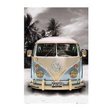 Camper Van Poster Californian Schnee Maxi Wand Kunst Dekor 61 CM x 91.5 cm (814)