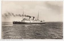 S.S. Isle of Jersey Shipping RP Postcard, B542