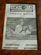 Original press sheet poster The chasity belt Frankie howard A4 Framed mgm/ua