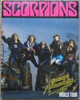Scorpions - Savage Amusement World Tour 1988 tour programme