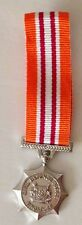 Miniature Singapore Civil Defence Force SCDF Long Service Good Conduct Medal