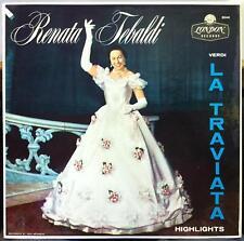 Mono FFrr UK TEBALDI & MOLINARI-PRADELLI la traviata highlights LP Mint- X 5344